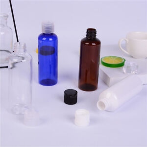 100ml-Plastic-colorful-Flip-Bottles-Travel-Shampoo-Lotion-Cosmetic-ContainerCSH