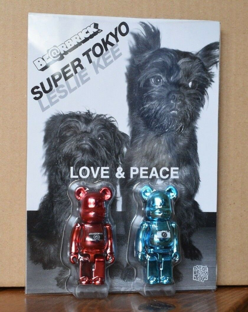 100% Bearbrick - Super Tokyo - Leslie Kee - Japanese Medicom - US Seller