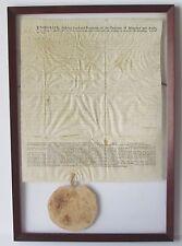 1769 Lord Baltimore Land Grant [Framed]- Busick's Range- Dorchester County, Md