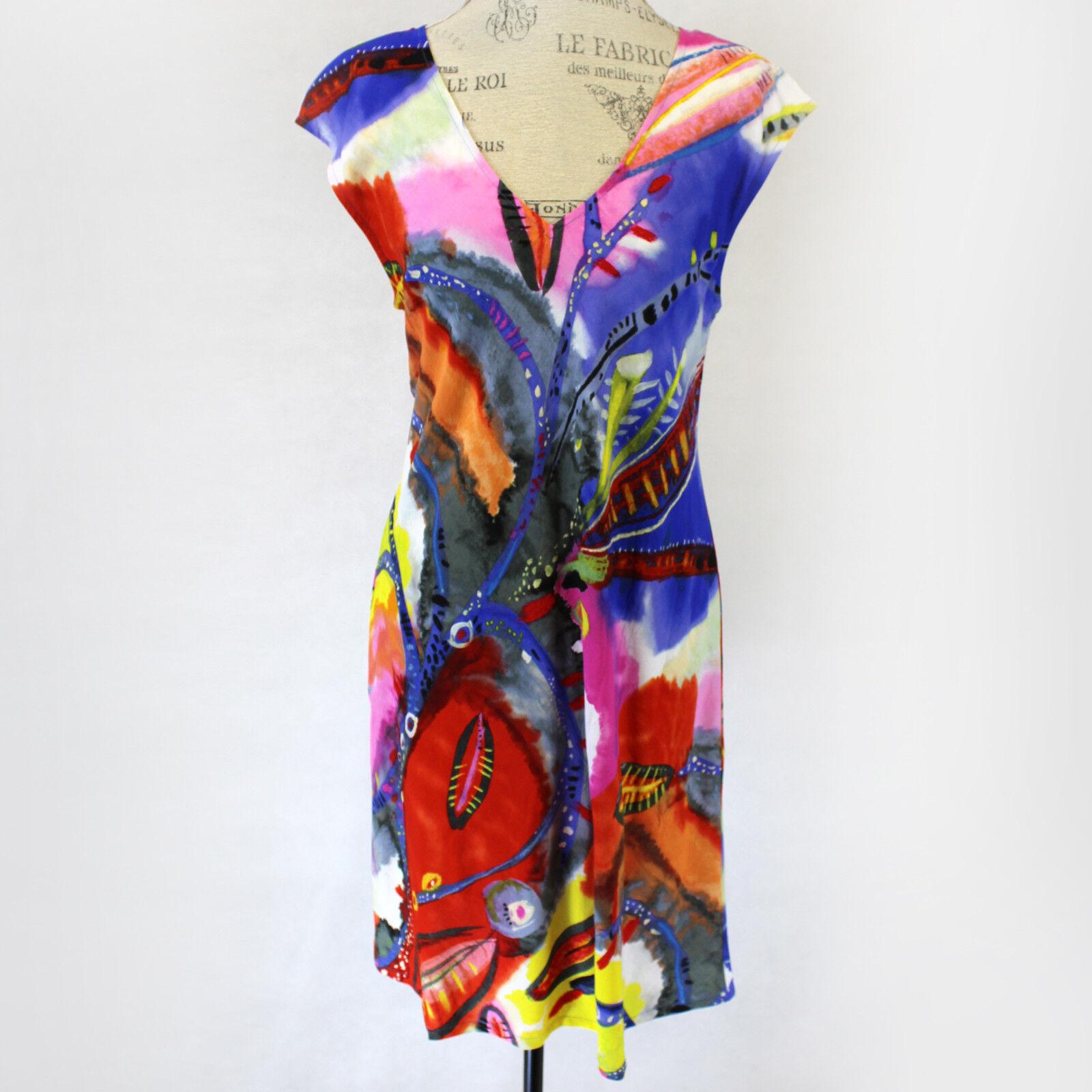 NEW Jams World Sherry Dress SECRET Crush Print Sundress XL Made in USA