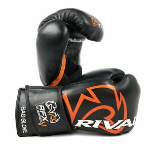 Rival White Pro Fight Boxing Gloves RFX HDE-F Guerrero