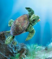 Sea Turtle Puppet 3036 Free Shipping/usa Folkmanis Puppets
