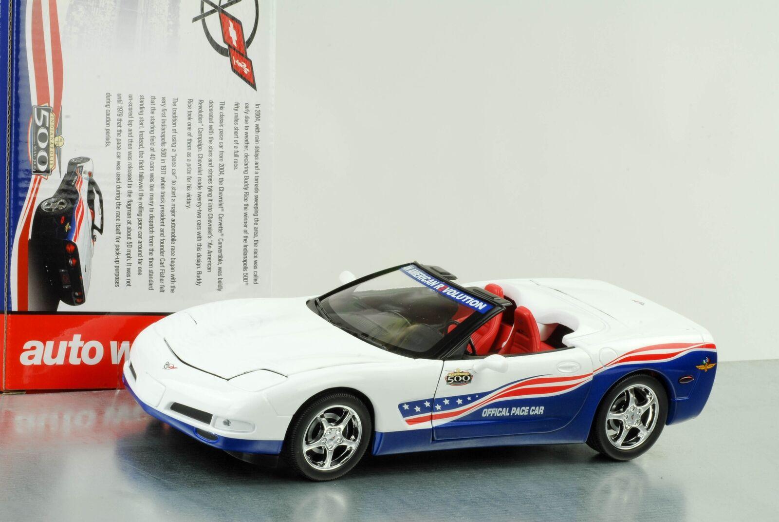 2004 Chevrolet Corvette Indy 500 pace Car 1 18 Auto World