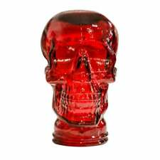 Glass Skull Display Head Various Colours Ideal For Headphones Hats Etc