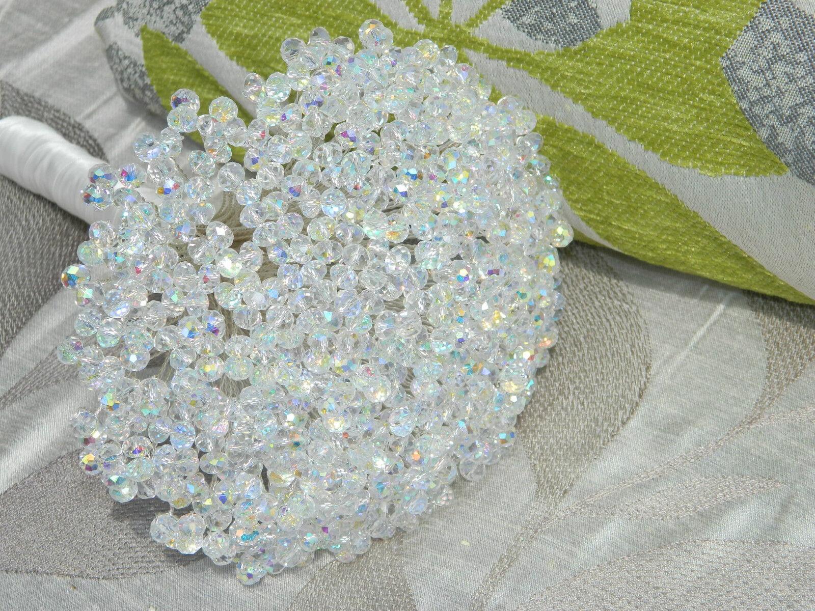 Crystal  'Elegance' mariage brides crystal Bouquet  5