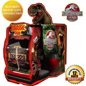 Jurassic-Park-Shooting-Arcade-Game-Machine-55-034-HD-Screen-BRAND-NEW-2019