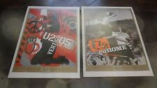 U2.VERTIGO CHICAGO.SLANE CASTLE 2 LITHOGRAPH POSTERS MINT CONDITION