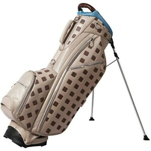 NEW Ouul Golf Sterling Collection Stand Bag 5-Way Top - Light Gray