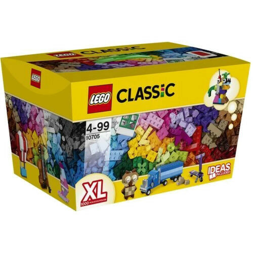 Lego CLASSIC CAJA DE LADRILLOS CREATIVOS edificio cesta 10705 XL 1000 Piezas Caja Dañada