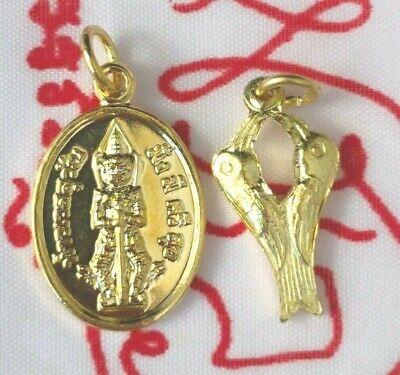 Meed Mor Tiny Thao west suwan Buddha Talisman Thai amulet Protect life Occult