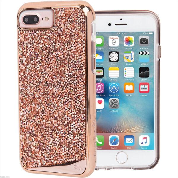 new style 1e565 e99cd Case-Mate Brilliance Protective Case Cover iPhone 7 6s 6 Plus - Rose Gold  (refur