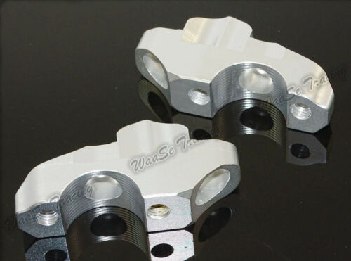 CNC Handlebar Bar Riser Mount Kit 25mm Up 20mm Back For 2013-2019 BMW S1000R K47