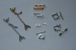 Image Is Loading Jewellery Clasps Various Options Silver Gold Toggle Lobster