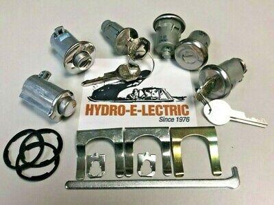 1966 Pontiac Tempest Trunk Lock Cylinder Assembly With Keys