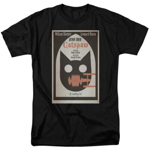Star Trek Orignal Series Poster Art EPISODE 36 Black Adult T-Shirt All Sizes