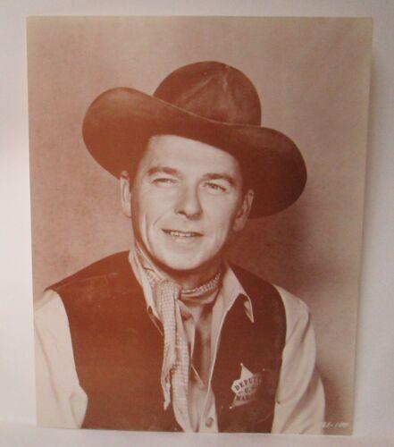 "Vintage Cowboy Ronald Reagan 11/"" x 14/"" Poster Picture Photo Deputy"