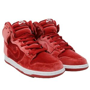 NIKE-SB-Dunk-High-Pro-039-Red-Velvet-039-Crush-Valentines-Day-sz-10-5-313171-661-Skate