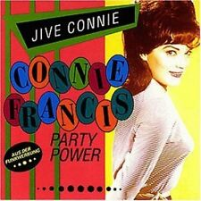 Connie Francis Jive Conny-Party power (compilation, 17 tracks, 1960-67/92) [CD]