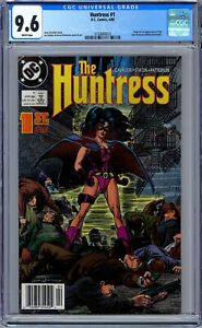 CGC 9.6 Huntress #1 (1989,DC) Origin & 1st App. of Huntress (Helena Bertinelli)