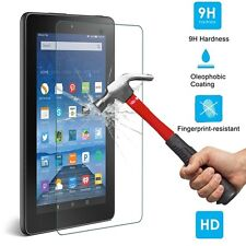 9H Premium Tempered Glass Screen Protector For Amazon Kindle Fire HD 7 2015 US