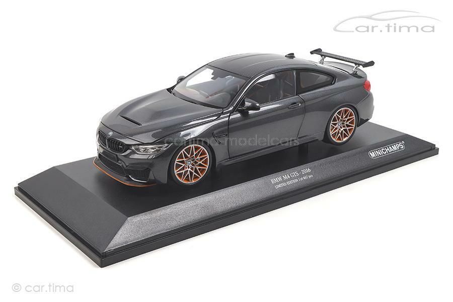 BMW M4 GTS-Grey Met. - Minichamps 1 18 - 110025222
