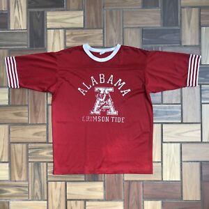 sale retailer 665f0 87b9f Vintage 80s 90s Alabama Crimson Tide Football Jersey / Red ...