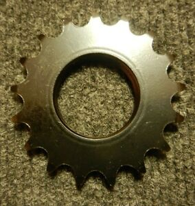 New 17 tooth steel track cog black