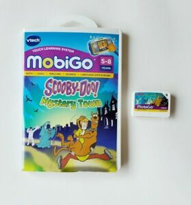 Vtech Mobigo Scooby Doo Mystery Town Learning Game Ages 5 ...