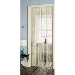 Tassel-Cream-Hanging-String-Partition-Divider-90x200cm-Door-Curtain-JA035