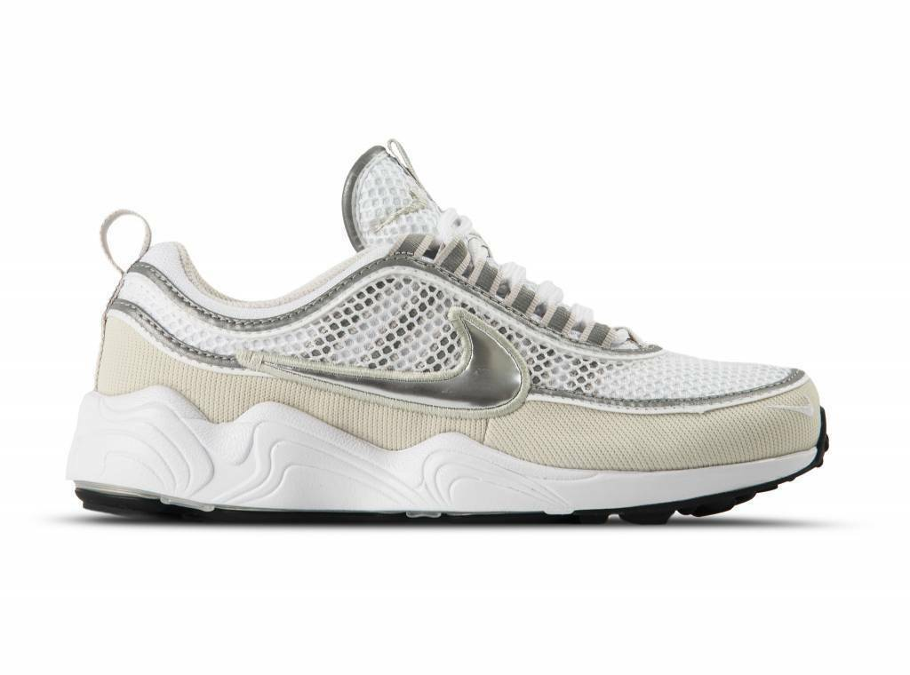 Nike Air Zoom Spiridon '16 White Metallic Silver Bone Grey 926955-105 Men's 10