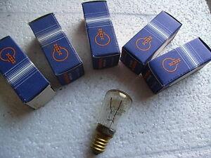 6x-Stueck-NARVA-15Watt-E14-schlanke-Birne-Tropfenlampe-glar-DDR-Gluehbirne-NEU-OVP