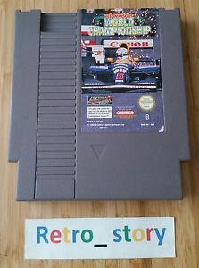 Nintendo-NES-Nigel-Mansell-039-s-World-Championship-PAL