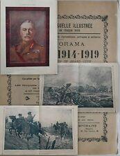 Le Panorama de La Guerre Mondiale 1914-19 Fascicule n°95