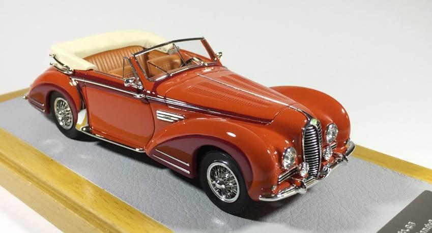 CHROMES 072 - Delahaye 175S 1949 Cabriolet Chapron sn815028  1 43