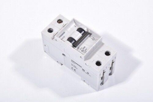 Nennstrom 1 bis 32A SIEMENS 5SX22 Leitungsschutzschalter Charakteristik B C D