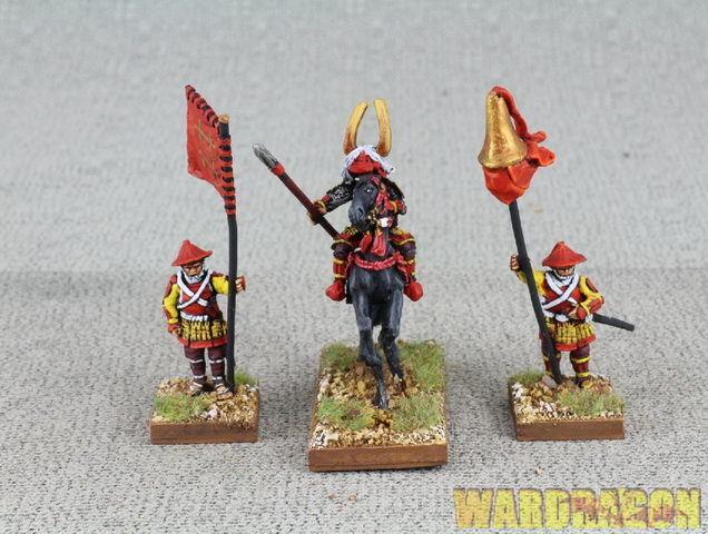 Samurai Wds Pintado SAM53 Ii Naotaka (montado) y portadores de su son D Devils's d58