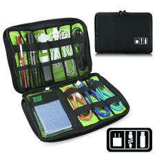 Electronic Accessories USB Cable Organizer Bag Case Drive Travel Insert Pen Card