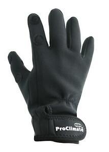 Pro-Climate-Mens-Neoprene-Black-Fishing-Gloves