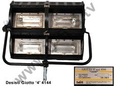 Desisti Giotto 4 - Halogen-Horizontfluter mit 4 x 1250W