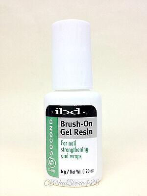 IBD- BRUSH-ON GEL RESIN 6g- ideal for wraps and strengthening natural nails