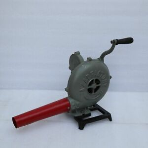 Vintage-Style-Forge-Furnace-With-Hand-Blower-Pedal-Type-Handle-Blacksmith-Tool