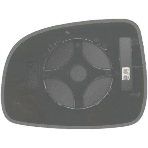 Rechts Asphärisch Spiegelglas Beheizbar für Nissan Note 2004-2013