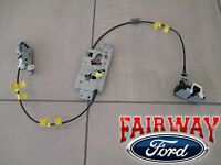 04 Thru 08 F-150 Ford Rear Side Door Latch & Cable Extended Cab Left Driver