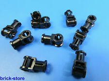 10 Stück 4563045 LEGO® technic Nr 2X1X3 Kurbel Verbinder hellgrau Pin//Kreuz
