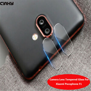 Details about 2X Rear Camera Lens Tempered Glass Protector Film For Xiaomi  pocophone F1 hi