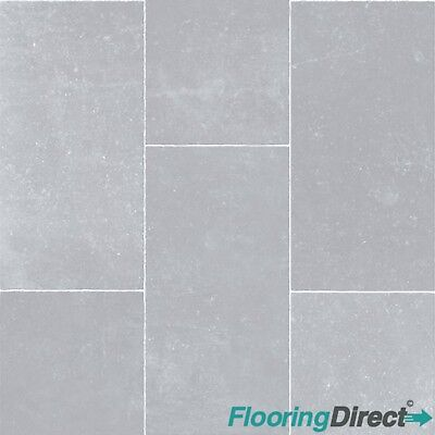 Light Grey Tile Stone Non Slip Vinyl