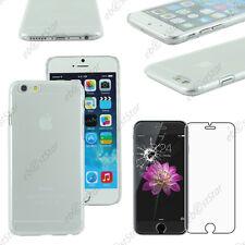 """Coque Housse Etui Rigide Slim Transparent Apple iPhone 6S Plus 5,5"""" Verre"""