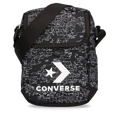 CONVERSE CROSS BODY 2 MAN BAG MINI SHOULDER BLACK 10017276 001 | eBay