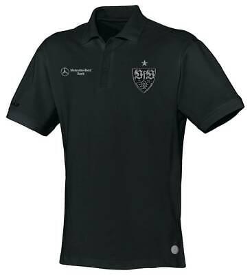 Jako VfB Stuttgart Poloshirt Classic Herren Trainingsshirt Polohemd schwarz