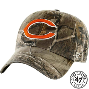 47-Brand-Chicago-Bears-Camo-Realtree-Hunting-Football-Hat-Cap-Adjustable
